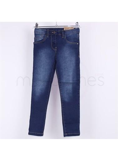 Losan Slim Fit 216 Yaş Pamuklu Açık Kız Çocuk Kot Pantolon Renkli